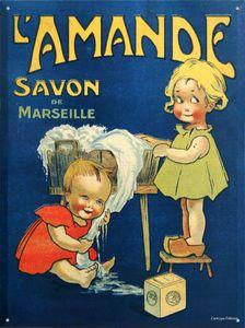 Old ad : Savon de Marseille