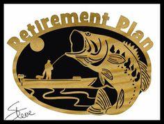 Retirement Plan Scroll Saw Pattern.