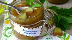 Rebarborová marmeláda s jablky a mátou Pudding, Desserts, Food, Tailgate Desserts, Deserts, Eten, Puddings, Postres, Dessert