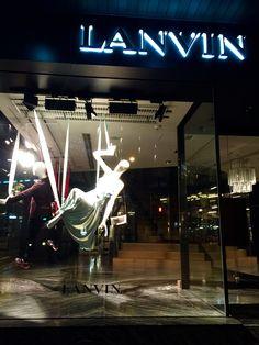 LK By Lincoln Keung - LANVIN Window Display - The LANDMARK - Hong Kong