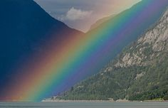 Rainbow over Sognefjord, Norway (© Premium Stock Photography GmbH/Alamy)