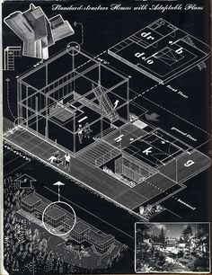 Kenneth Browne. Architectural Review v.121 n.720 Jan 1957: 84 #architecture # layout
