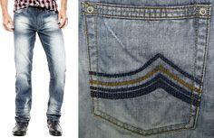 Buffalo David Bitton Men's I Jeans Ethan Super Slim Distressed 30 (33x33) LKNEW #BuffaloDavidBitton #SlimSkinny