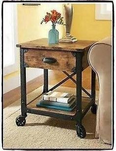 rustic end tables - Google Search $110.00
