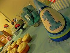 Jake`s 1st birthday Party - Race