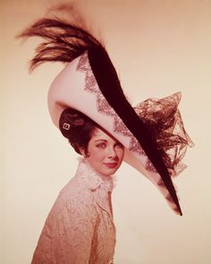 Cecil Beaton. My Fair Lady, a collection of ten colour transparencies of models wearing hats and costumes designed by Cecil Beaton for the production, 25cm x 20cm (10)