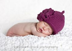 Ravelry: Roses Baby Hat Size 0-3 Months pattern by Angela Juergens