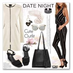 """""""Formal Night Style by Yoins"""" by jecakns ❤ liked on Polyvore featuring Linda Farrow and Vivienne Westwood"""