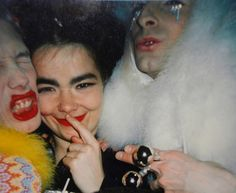 Apparently this is Michael Alig and the clubkids. Bjork seriously knows everybody.