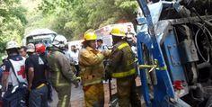 Accidente deja 59 lesionados en Chiapas