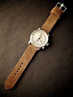 Balthazar Tan Suede Watch Strap
