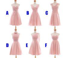 Cheap bridesmaid dress blush pink bridesmaid dress by sposadress, $109.00