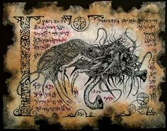 YOG SOTHOTH cthulhu larp necronomicon magick occult horror