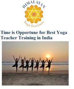 Know about Yoga Teacher Training in India