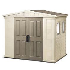 Back deck storage Deck Storage, Built In Storage, Outdoor Storage, Tall Cabinet Storage, Millenium, Back Deck, Garages, Skylight, Home Improvement