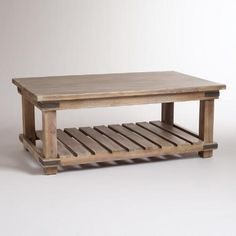 One of my favorite discoveries at WorldMarket.com: Cameron Coffee Table