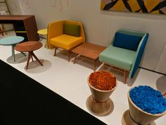 BiSilla Chairs by Two Six Creative Design #icff2014