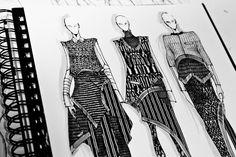 Fashion Sketchbook - fashion design drawings; fashion illustrations; fashion portfolio // Peter Do