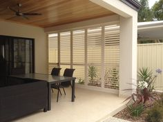 Boardwalk offers the best range of affordable interior & exterior shutters, blinds, gates, screens and slat fencing in and around Perth. Patio Blinds, Outdoor Blinds, Diy Blinds, Curtains With Blinds, Bamboo Blinds, Window Blinds, Matchstick Blinds, Sheer Blinds, Fabric Blinds
