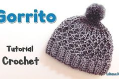 Learn how to crochet beanie hat made with rhombus stitch. Cold weather is coming and we all have to prepare with this beautiful and comfortable beanie hat. Crochet Beanie Hat, Beanie Hats, Knitted Hats, Baby Knitting, Crochet Baby, Knit Crochet, Crochet Designs, Crochet Patterns, Baby Coat