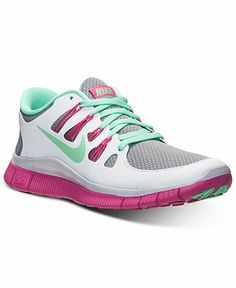 Nike Women's Free 5.0+ Reflective Sneakers from Finish Line - Kids Finish Line Athletic Shoes - Macy's