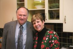 """George and Pat Desmond at Milagro House's Evening of Miracles (""""Life of a Party,"""" October 2014; photos by Nick Gould)"""