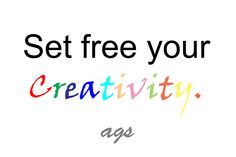 Set it free. Let's see the world as a beautiful masterpiece. #setitfree