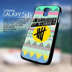 Aztec 5 second of summer Logo for Samsung Galaxy S4 Case