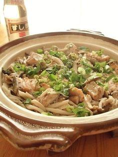 土鍋でド~ン!秋の炊きこみSUSHI♪|まんまる えがお キッチン
