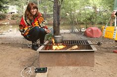 The Power Pot turns heat from your campfire or stove into power to charge your phone, camera or any USB cable charged device! Cook up your dinner and the power to snap a few more photos at the same time. ($149)