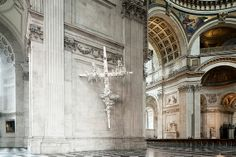 Gerry Judah's sculptures for St Paul's Cathedral
