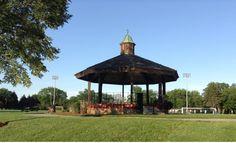 A gazebo on the Oak Brook Park District campus. #showyoursuburb #JulyPRM30