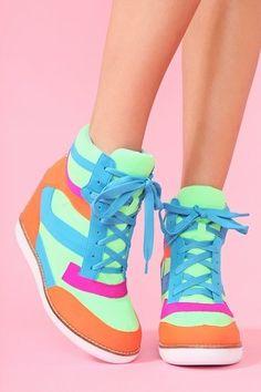 What's Trending? Wedge Sneakers!