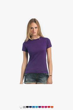 URID Merchandise -   T-SHIRT B&C EXACT 190 WOMEN CORES   3.52 http://uridmerchandise.com/loja/t-shirt-bc-exact-190-women-cores/ Visite produto em http://uridmerchandise.com/loja/t-shirt-bc-exact-190-women-cores/