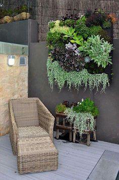 Oh yes vertical garden