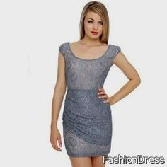 Awesome slate blue lace dress 2017-2018 Check more at http://newclotheshop.com/dresses-review/slate-blue-lace-dress-2017-2018/