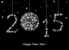 E-cards For 2015 New Year