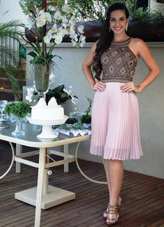 Vestido de festa curto, vestido para convidadas de casamento, vestido para festa de dia