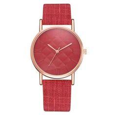 Men's Watches Fabulous Unisex Hot Sale Luxury Fashion Leather Variety Color Women Men Band Analog Quartz Business Wrist Watch Quartz Watch Quartz Watches