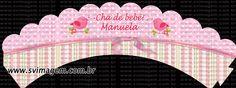 Silmara Vintem Imagem: Topper Plaquinha para cupcake e doce