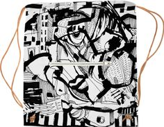 Going Outside Sport Bag by 5WINGERONE on Print All Over Me. #paomsportbag #paomprintoftheweek