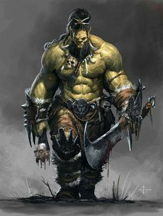 Orc band - Character design for Orcquest. , Loïc Muzy on ArtStation at www. - Orc band – Character design for Orcquest. , Loïc Muzy on ArtStation at www. Fantasy Races, High Fantasy, Fantasy Rpg, Medieval Fantasy, Fantasy Artwork, Fantasy Band, Orc Warrior, Fantasy Warrior, Dnd Characters