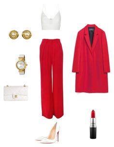 """Untitled #89"" by eva-skok on Polyvore featuring Isabel Marant, Narciso Rodriguez, OMEGA, Chanel, MAC Cosmetics, Christian Louboutin and Zara"