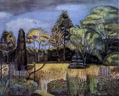 Paul Nash, Summer Garden, 1913.