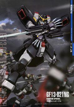 Mobile Fighter G Gundam - GF13-021NG Gundam Spiegel