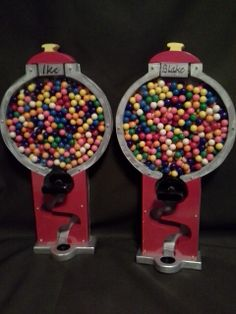 Gumball machines Woodworking Projects For Kids, Cnc Projects, Diy Projects To Try, Wooden Crafts, Diy And Crafts, Crafts For Kids, Candy Dispenser, Gumball Machine, Kids Wood