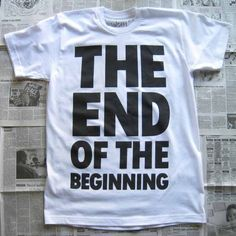 """""""It is not the end, nor is it even the beginning of the end. But perhaps it is the end of the beginning."""