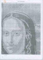 "Gallery.ru / karatik - Альбом ""La Gioconda"" Cross Stitch, Punto De Cruz, Art, Seed Stitch, Cross Stitches, Crossstitch, Punto Croce"