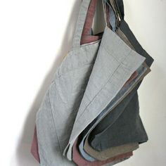 4762e5aff65 Image of Sac tout simple- inspiration only- make of linen Fabric Storage