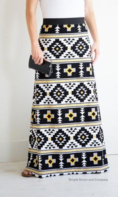 Riley Blake Designs Blog: RBD Back-to-School Blog Tour: Simple Simon & Co Maxi Skirt Sewing Pattern Coming Soon! #iloverileyblake #simplesimon #fourcorners #jerseyknit #maxiskirt